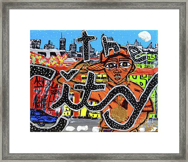 Big Cities Framed Print