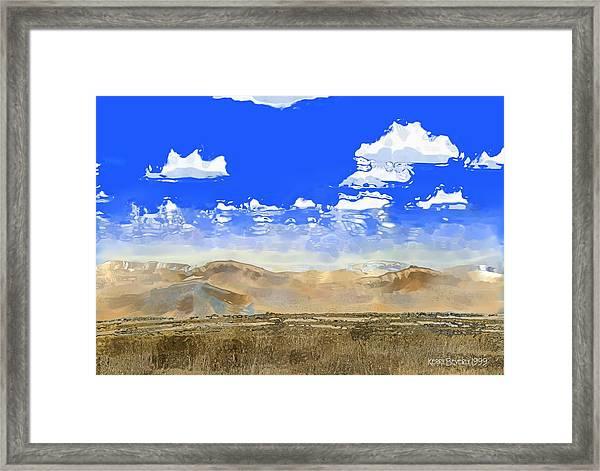 Big Country Framed Print