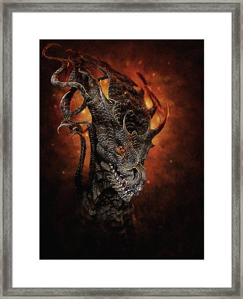 Big Dragon Framed Print