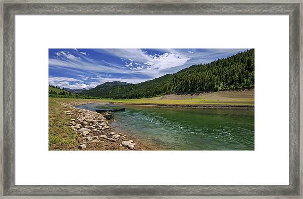 Big Elk Creek Framed Print