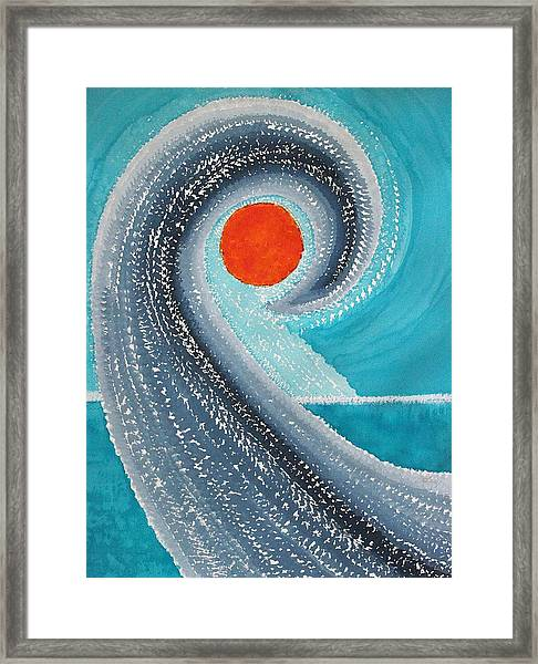 Big Kahuna Original Painting Framed Print