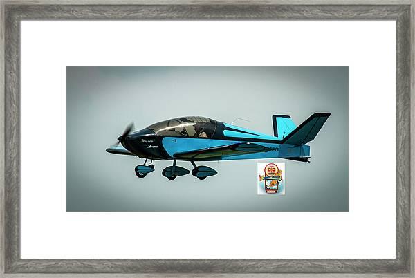 Big Muddy Air Race Number 100 Framed Print