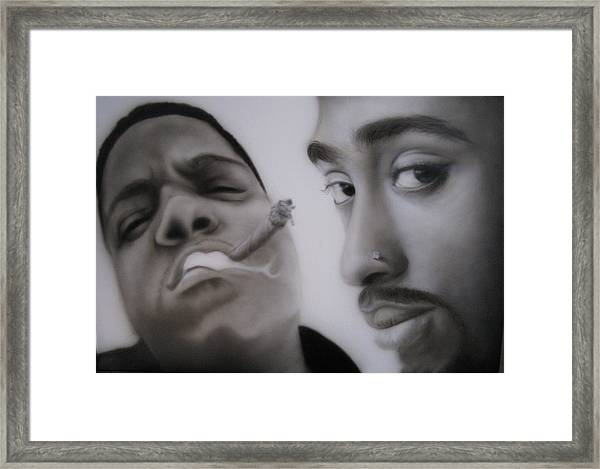 Big N' Pac Framed Print by Grant Kosh