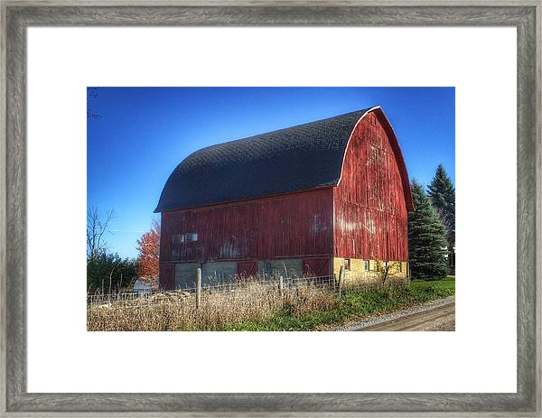 0007 - Big Red Vii Framed Print