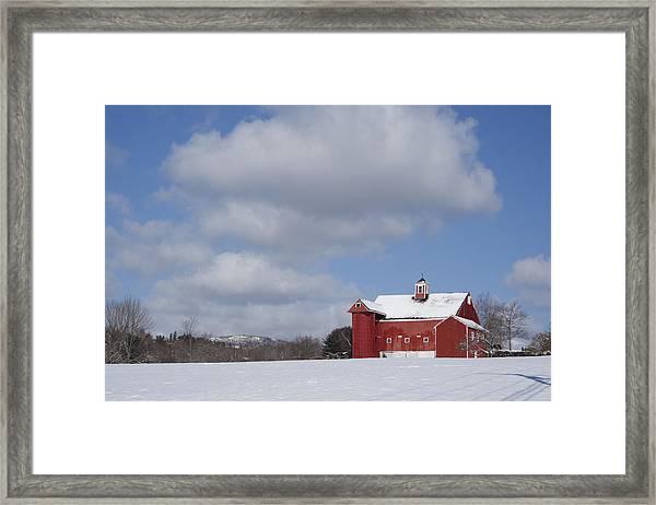 Big Sky Farm Framed Print