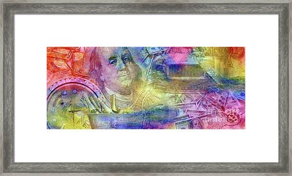 Big Time Framed Print