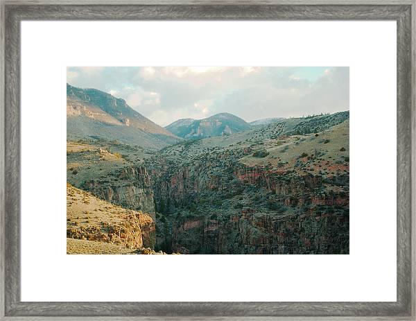 Bighorn National Forest Framed Print