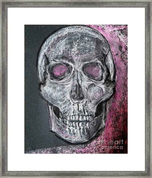 Billie's Skull Framed Print
