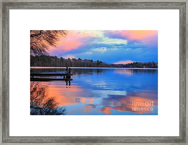 Billington Sea Sunset Framed Print