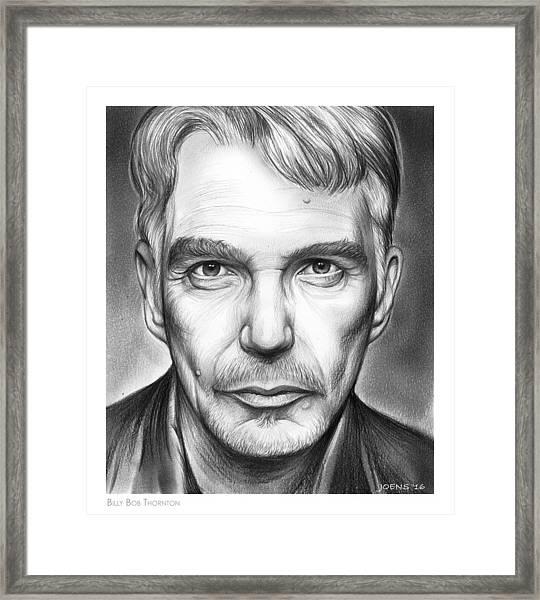 Billy Bob Thornton Framed Print