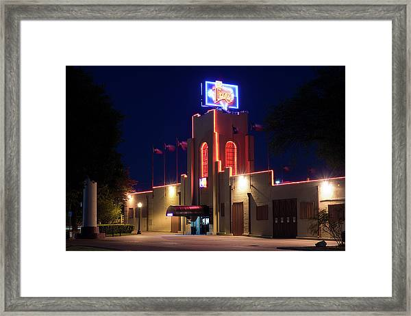 Billy Bob's Texas 33017 Framed Print