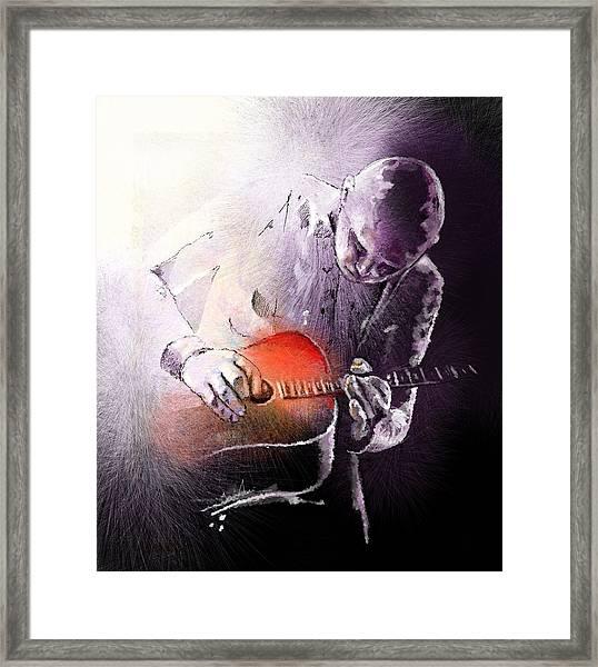 Billy Corgan Framed Print