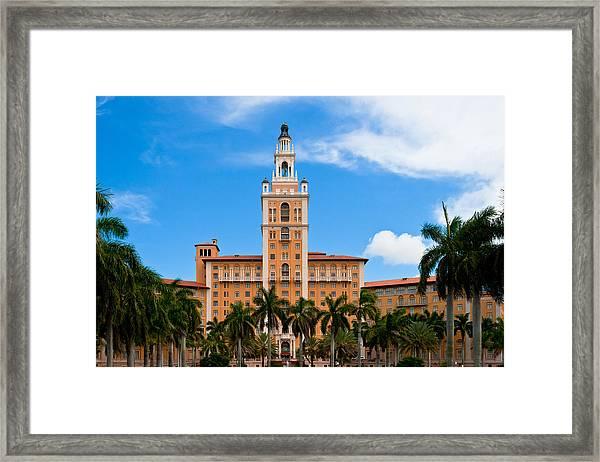 Biltmore Hotel Framed Print