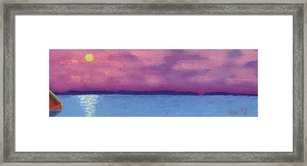 Bimini Sunrise Framed Print