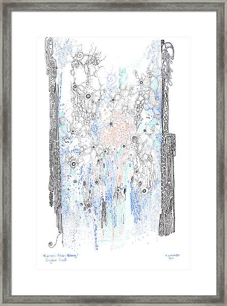 Bingham Fluid Or Paste Framed Print