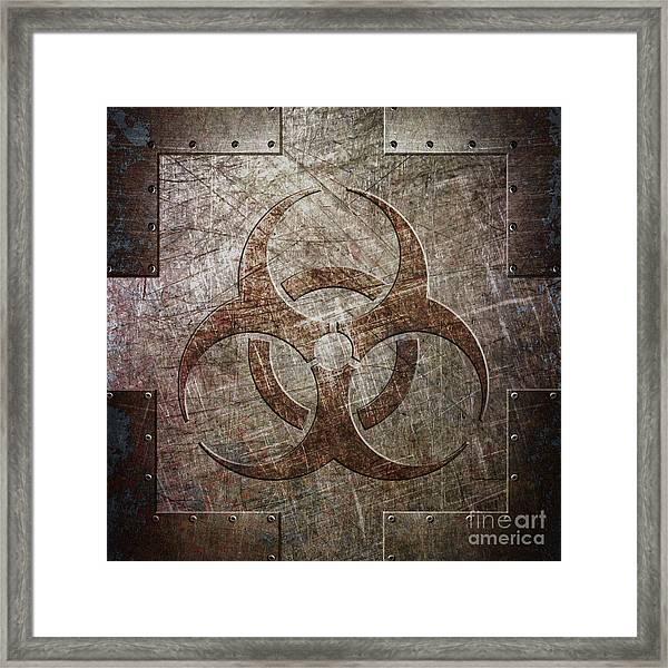 Bio Hazard Framed Print