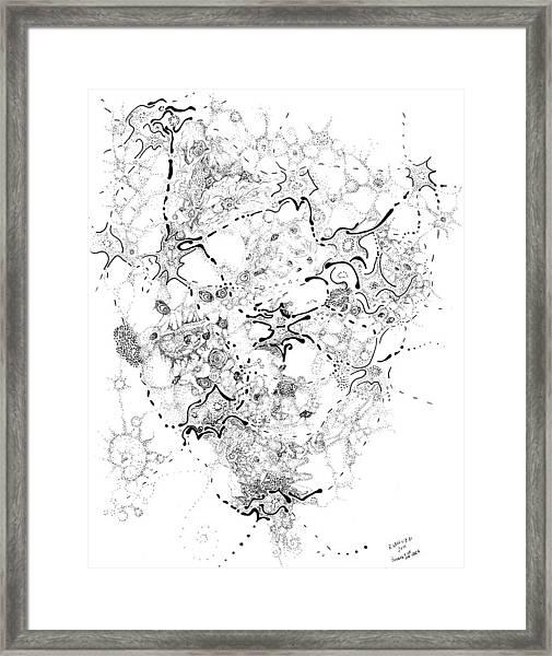 Biology Of An Idea Framed Print