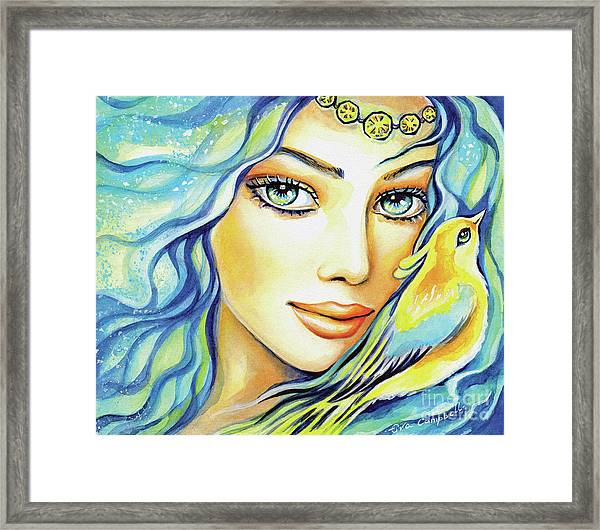 Bird Of Secrets Framed Print