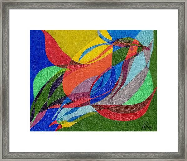 Birds - 2. Framed Print