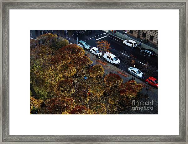 Bird's Eye Over Berlin Framed Print