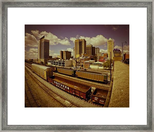 Birmingham At Work Framed Print