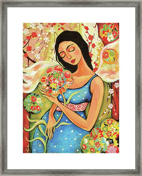 Birth Flower Framed Print