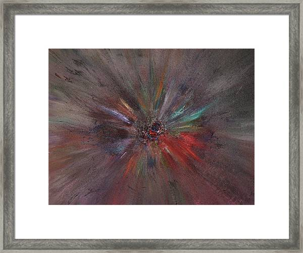 Framed Print featuring the painting Birth Of A Soul by Michael Lucarelli