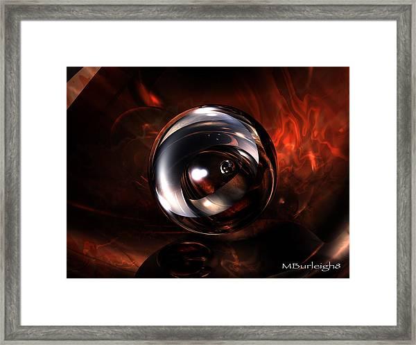Birth Pearl Framed Print by Michael Burleigh