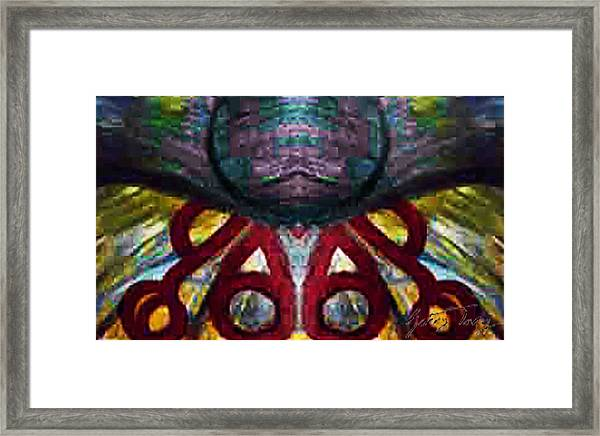 Birth Place Framed Print