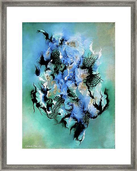 Birth With Expression Framed Print