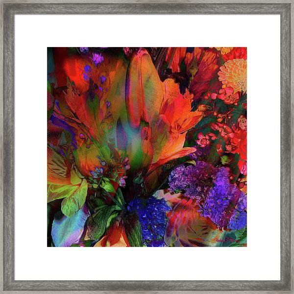 Birthday Flowers Framed Print