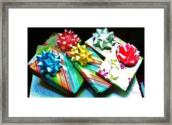 Birthday Presents Framed Print