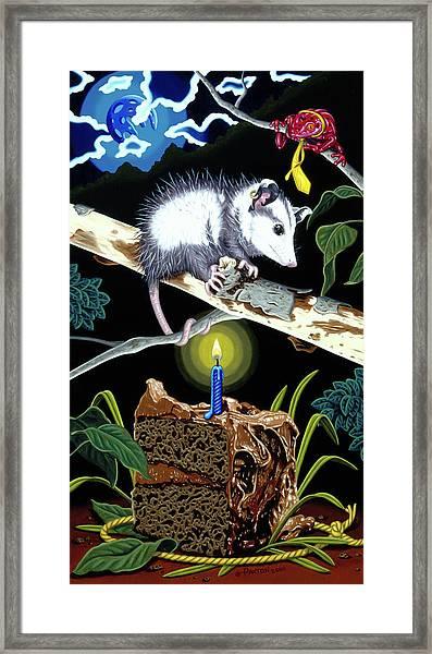 Birthday Surprise Framed Print