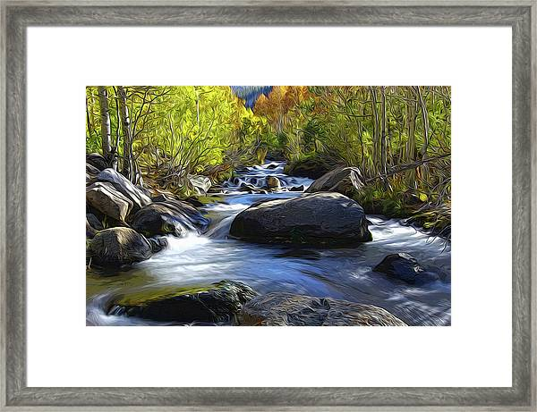 Bishop Creek Framed Print