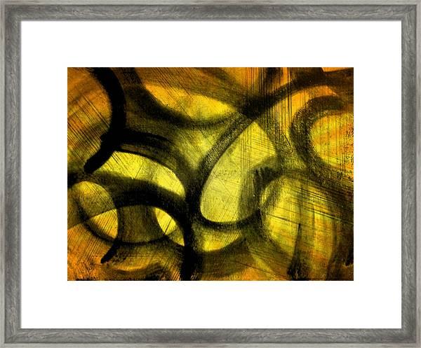 Biting Soul Framed Print