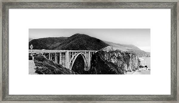 Bixby Bridge - Big Sur - California Framed Print