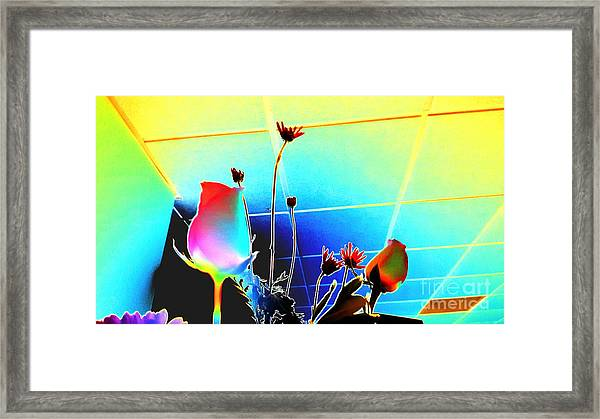 Bizarre Rising Framed Print