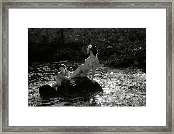 Black And White Nude 07 Framed Print