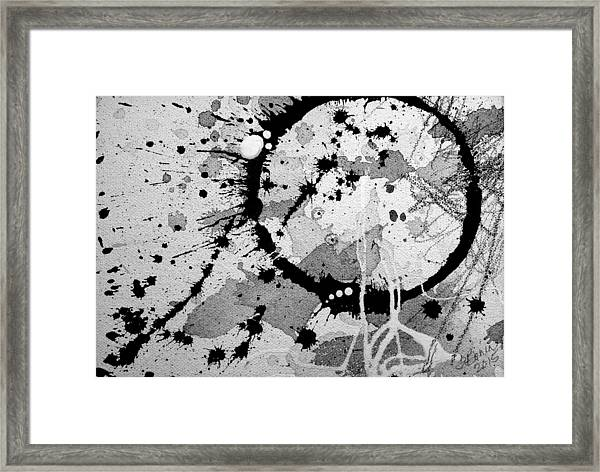Black And White Two Framed Print