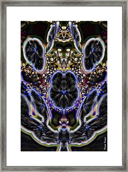Black Angel Framed Print