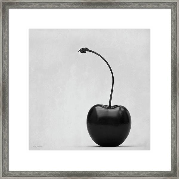 Black Cherry Framed Print