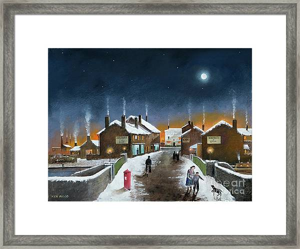 Black Country Winter Framed Print