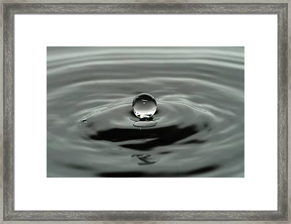Black Pearl Framed Print