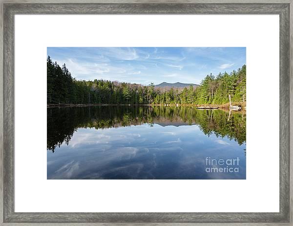 Black Pond - Lincoln, New Hampshire Framed Print