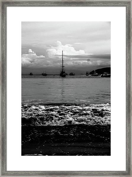 Black Sails Framed Print