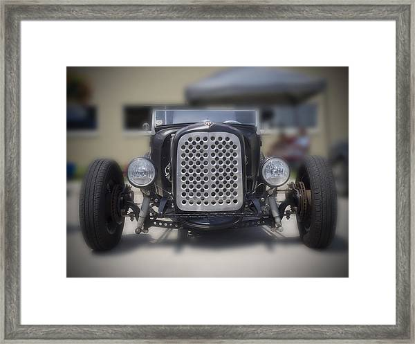 Black T-bucket Framed Print