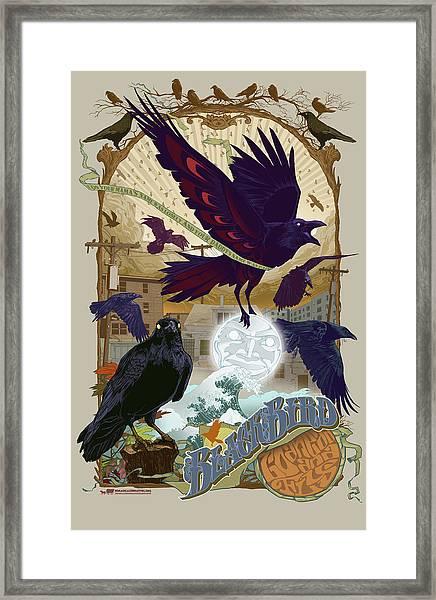 Blackbird 1 Framed Print