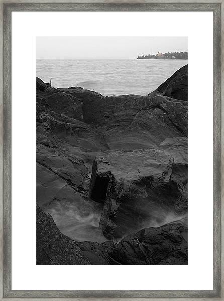 Framed Print featuring the photograph Blackrock Lighthouse by Dylan Punke