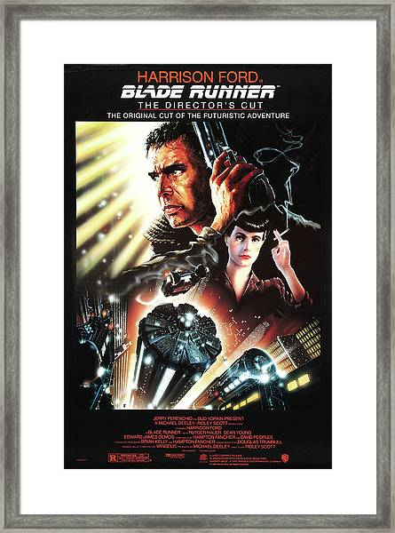 Blade Runner 4 Framed Print