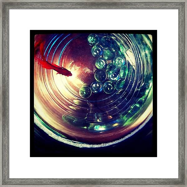 Blaze I Framed Print